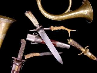 VERY NICE AUSTRIAN HUNTING DAGGER LATE 19TH CENTURY