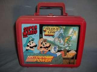 Power Lunch Box 1989 NES Super Mario Bros & Zelda II Adventure of Link