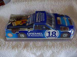 Dremel Pinewood Derby Accessory Kit 18 pieces 21602 NIB