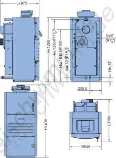 Buderus Holzvergaser S161   24 / Logamatic 2114
