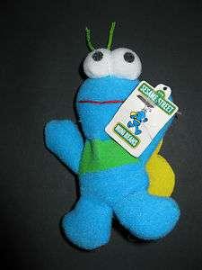 Kelloggs Sesame Street Character TWIDDLEBUG Mini Beans Plush Toy