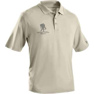 UNDER ARMOUR HEATGEAR WOUNDED WARRIOR PROJECT POLO DESR