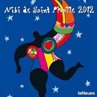 Niki de Saint Phalle 2012 Wall Calendar |