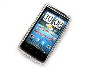 Hello kitty Rhinestone Bling full Case f HTC Inspire 4G