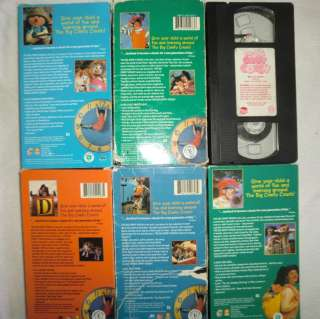 Big Comfy Couch Red Light Green Light Manners Vhs