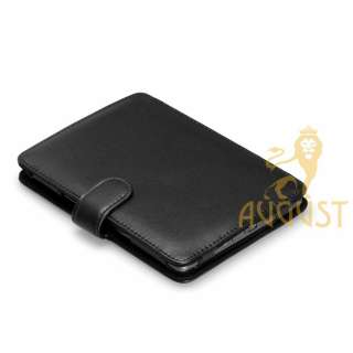 GENUINE LEATHER COVER CASE FOR NEW  KINDLE 4 WIFI   AUGUST LION