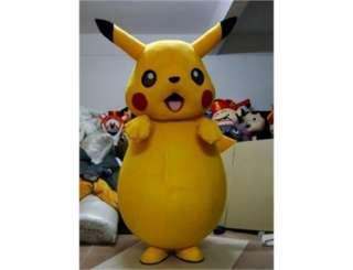 Rare type Cute Pikachu Pokemon Mascot Costume Fancy Dress Outfit