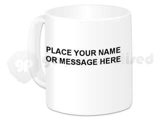 Personalised Ceramic Mug  St George Boy Design