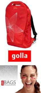 2010 GOLLA G831 CONST 16 RED LAPTOP BACKPACK BAG CASE