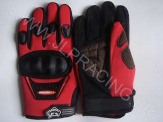   GANTS MOTO CROSS QUAD VTT BMX KARTING COQUES TAILLE L