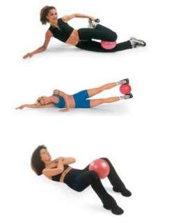 Brand New High Quality 26 cm Soft Gym Exercise Over Ball