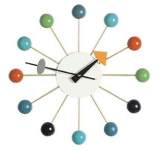 orologio da parete VITRA ball clock George Nelson Color