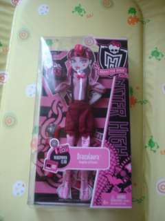 2 habits monster high draculaura et clawdeen