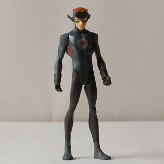 DC UNIVERSE YOUNG JUSTICE 4.25 STEALTH KID FLASH FIGURE Book Hero