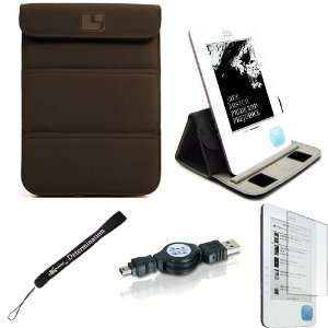 Cover Sleeve Carrying Case easily Foldable to Stand for Borders Kobo