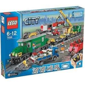 Lego Cargo Train Deluxe Box Ebay