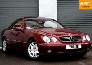 Mercedes W215 CL500 CL 500 Pillarless Coupe 5.0 V8