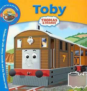 TOBY (THOMAS THE TANK ENGINE) BOOK & CD SET NEW