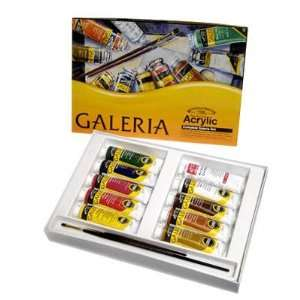 Winsor & Newton Galeria Acylic Color Complete Paint Set