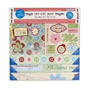 Colorbok All About Me Page Kit 12X12 43261; 2 Items