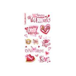 EK Success Sticko Seasonal Classic Stickers Funny Valentine