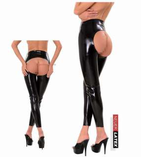 Anita Berg Rubber Latex Leggins Leggings Hose m.zipper S, M, L, XL