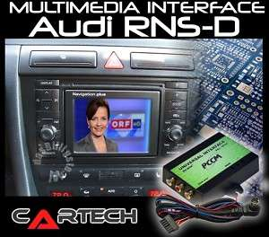 INTERFACE MULTIMEDIA NAVEGADORES AUDI NAVI PLUS RNS D