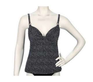 Maidenform Beach Custom Lift Tankini Top   QVC