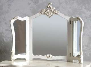 Top Quality Antique White Large Antique Dressing Table Set