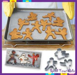 Men Cookie Kid Cutters Karate Ginger Tae Kwon Do Martial Arts