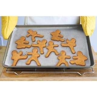 Fred Ninja Bread Men Cookie Kid Cutters Karate Ginger Tae Kwon Do
