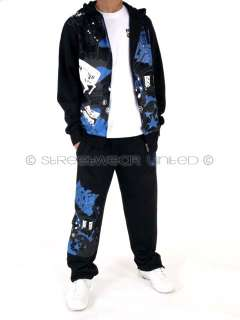 BNWT BOYS Ecko Unltd Sub Star Tracksuit Black Age 9  15