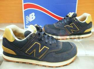 New Balance 574 TG 43 ML574WKN uomo vintage sneakers casual moda navy
