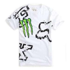 T Shirt FOX RACING / Monster Energy   NEUF  Taille XXL