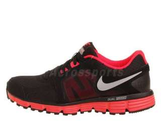 Nike Wmns Dual Fusion ST 2 Black Solar Red Running Shoe