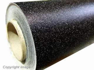 BLACK Sparkle Glitter Vinyl Flooring / Floor   2m x 3m