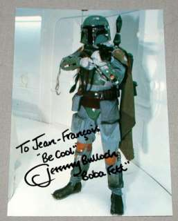 Jeremy Bulloch Star Wars  Boba  Signed Postcard