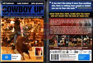COWBOY UP Lane Frost Luke Perry bull riding rodeo NEW