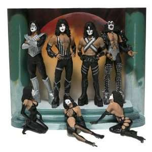 McFarlane Rock n Roll Series KISS Love Gun Deluxe