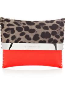 Jimmy Choo Daphne leopard print clutch   70% Off Now at THE OUTNET
