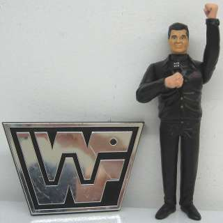 Pacific 1997 Wreslting WWF Ringside Collection 6 Vince McMahon Figure