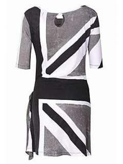 Homepage  Women  Dresses  Religion Union jack jersey dress