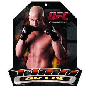 UFC Tito Ortiz 11 by 13 Wood Mascot/Player Sign Sports