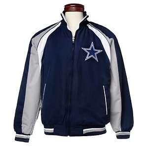 Dallas Cowboys Reversible Colorblocked Jacket by G III