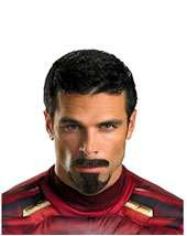 14 Inch Beard And Moustache   Brown $3.99 In Stock Tony Stark Facial