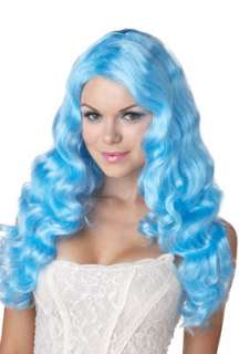Sweet Tart Costume Wig (Blue) for Halloween   Pure Costumes