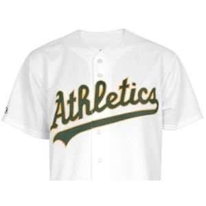 Oakland Athletics VF Activewear MLB Youth Blank Replica Jersey