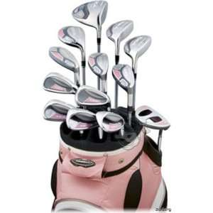 Right Handed Ladies A7OS 13 Piece Set With Cart Bag and Headcovers