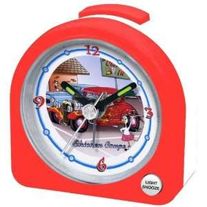 Chicken Coupe Travel Alarm Clock , Light, Snooze Button