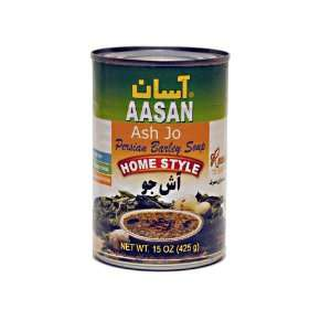 AASAN Barley Soup (Ash Jo) 15 oz   Pack of 6:  Grocery
